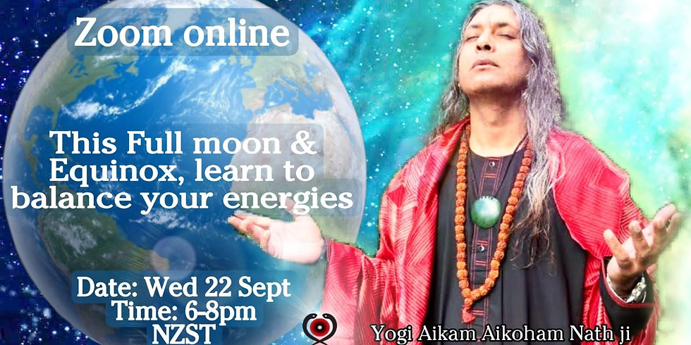 "Zoom Online ""Full moon & Equinox Meditation and Healing"""