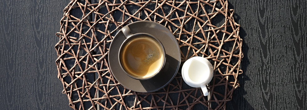 Morning Coffee at Samovilla