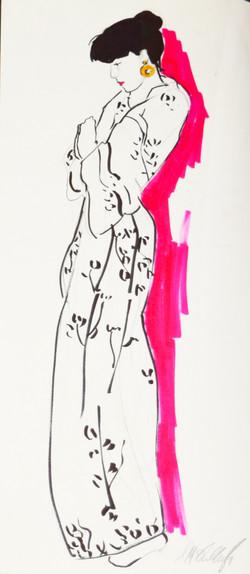 Fashion Illustration Study