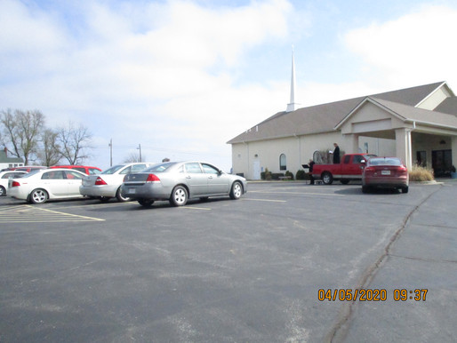 39 Assemble for Palm Sunday Drive-In Worship Service  -  Join Us this Sunday for EASTER Worship!