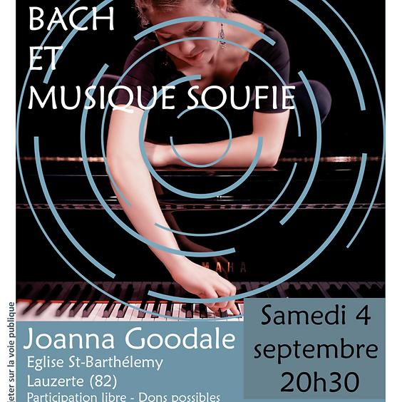 Concert BACH & musique SOUFIE