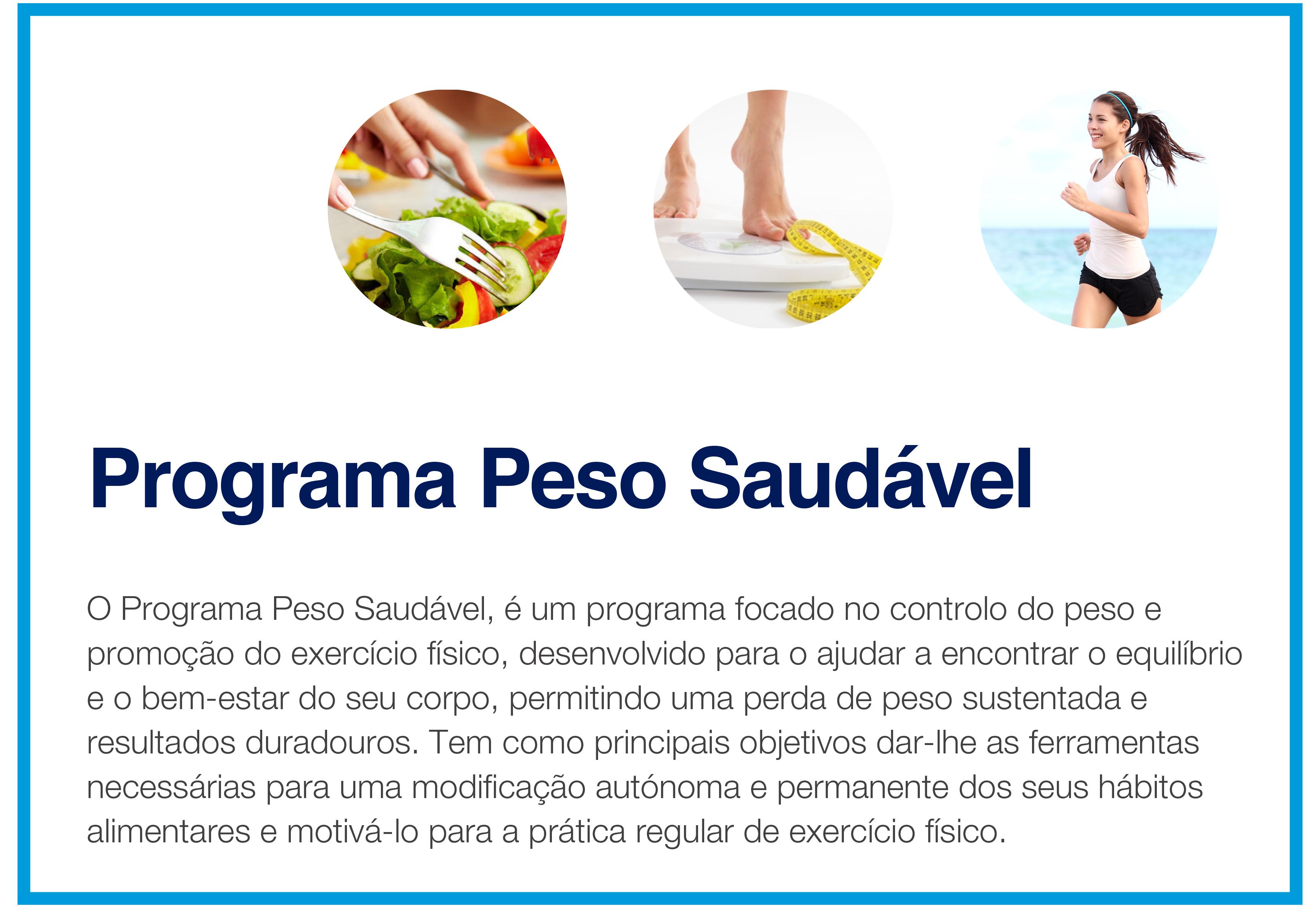 programa peso saudável