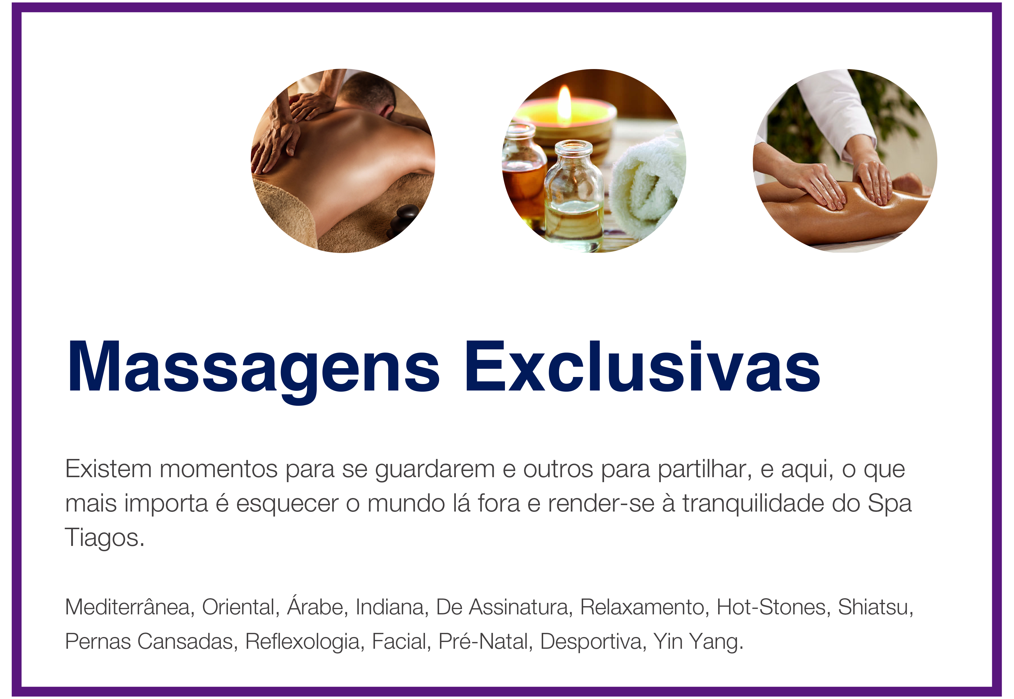 massagens exclusivas