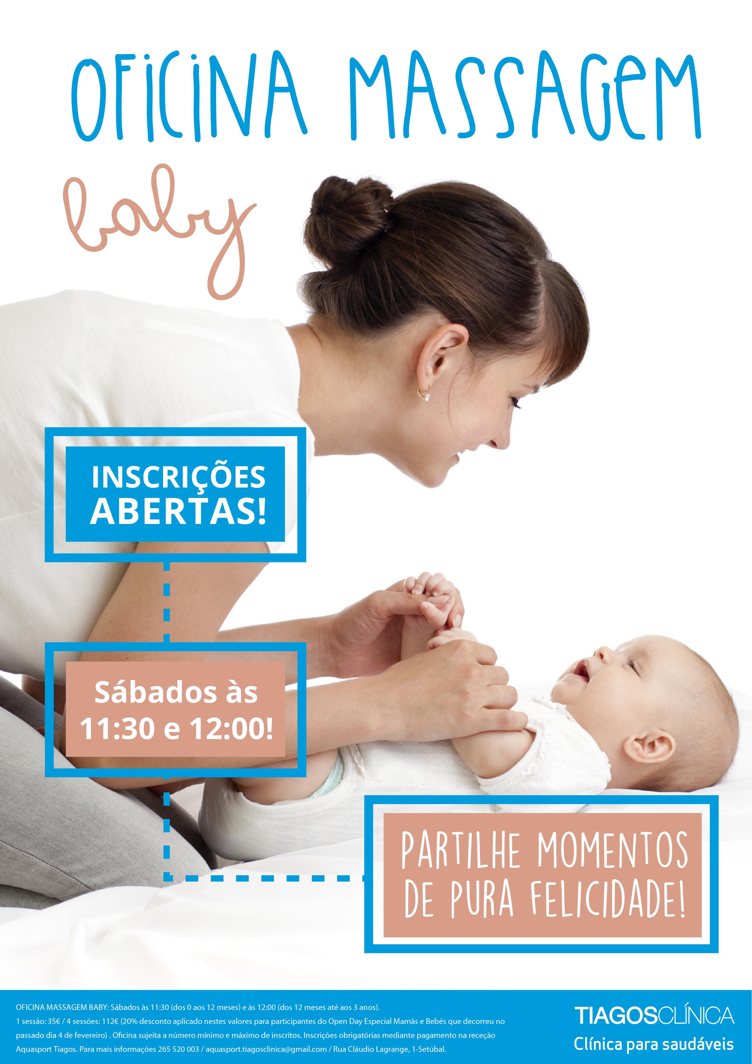Oficina Massagem Baby