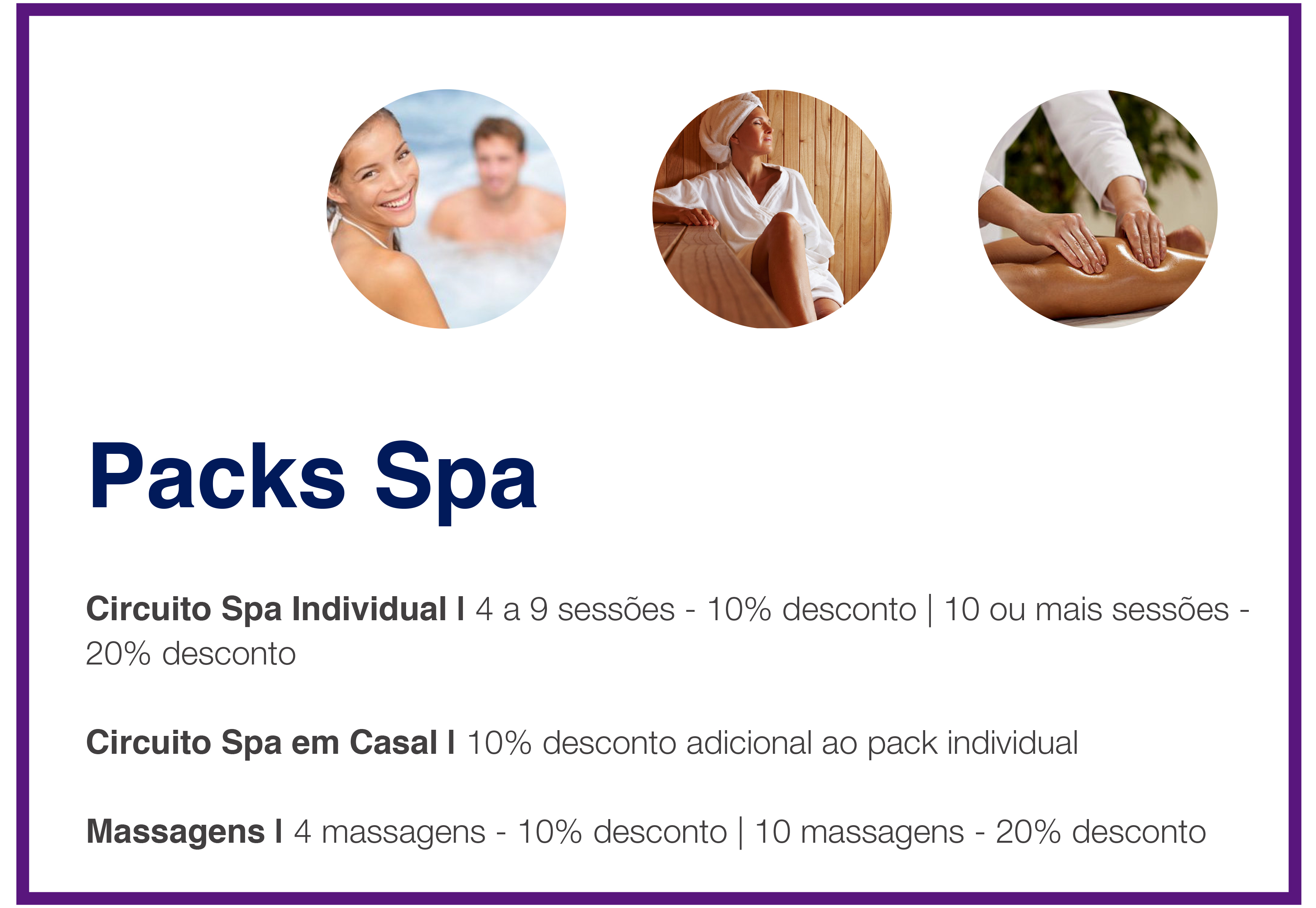 packs spa