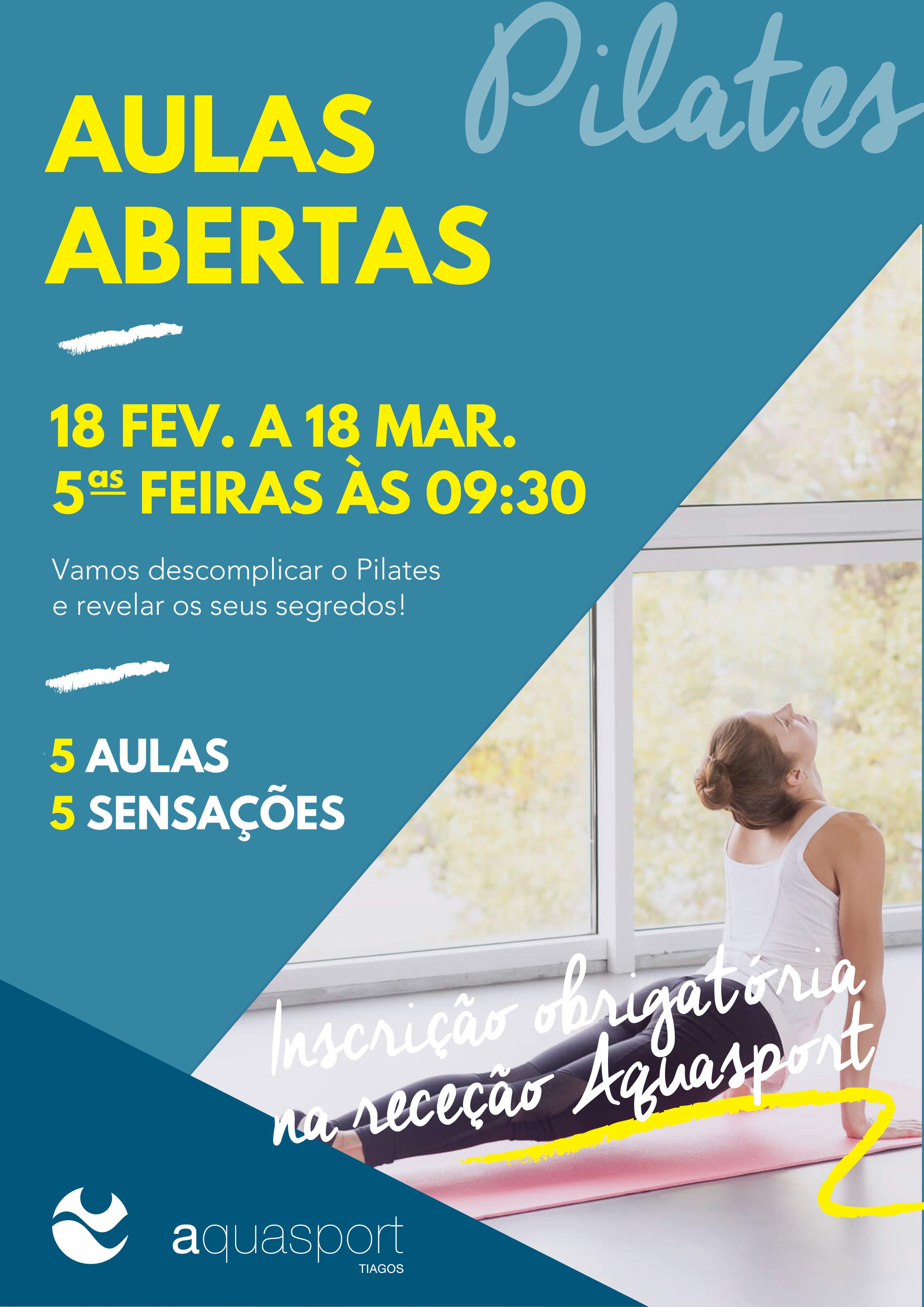 pilates AULA ABERTA