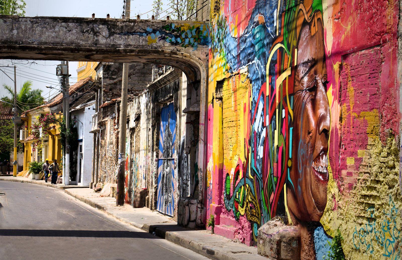 Arte En Calles De Getsemani