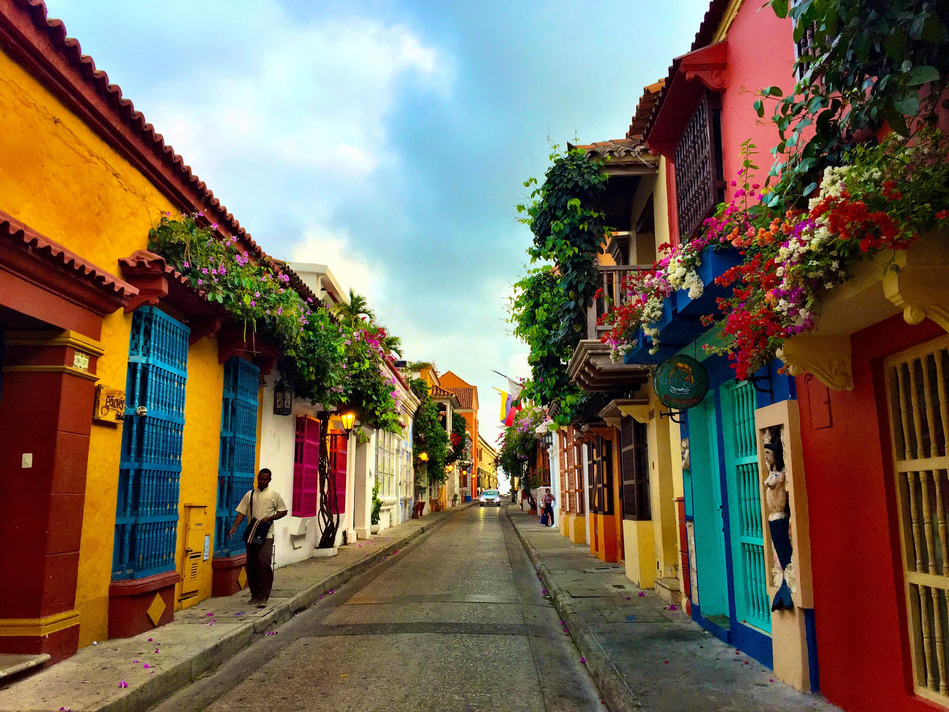 Las majestuosas Calles de Cartagena