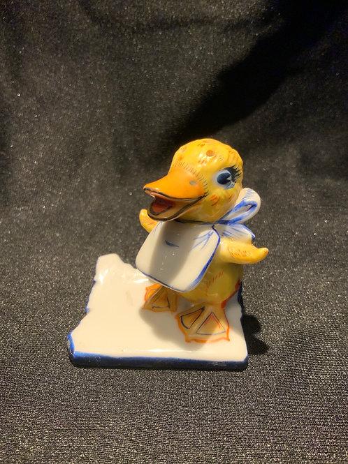 Vintage Baby Duck Salt Shaker