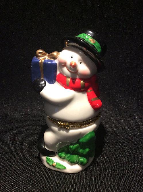 Snowman Jewelry Box