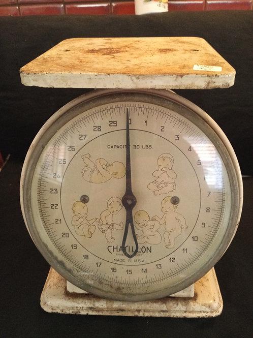 Vintage Infant Scale