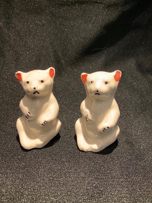 Pair of Vintage Polar bears