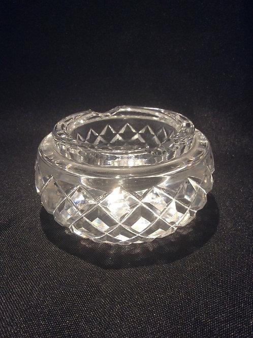 Art Deco Crystal Ash Tray