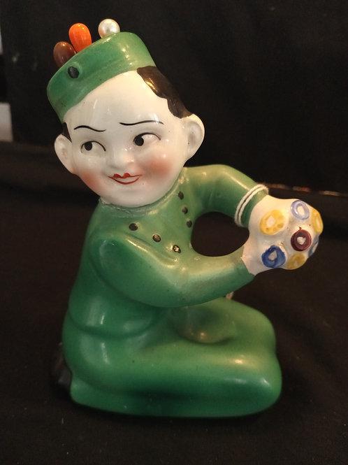 Vintage Bellhop Toothpick Holder