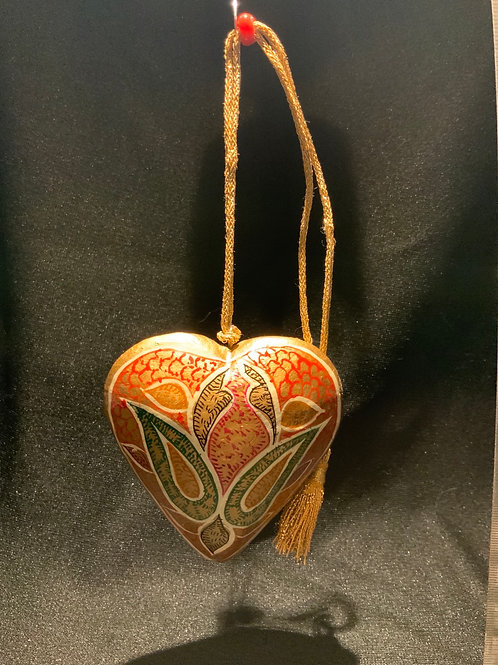 Vintage Hand Painted Heart