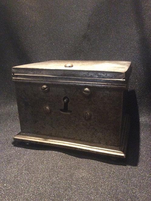 Vintage Metal Lock Box