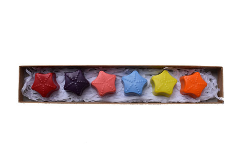 Small star crayons
