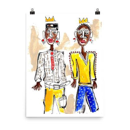 Royal Love Print