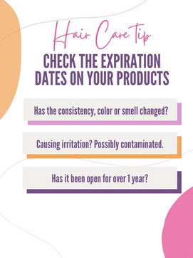 Are your hair products expired?