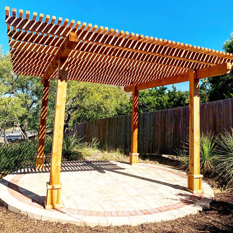 Belgard-Pavers-With-Custom-Wood-Pergola.
