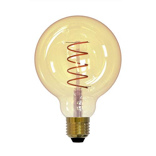 Лампа светодиодная Uniel Vintage LED-G95-4W-GOLDEN-E27-CW GLV21GO