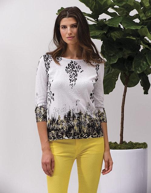 Lemondrop 3/4 Sleeve Sweater