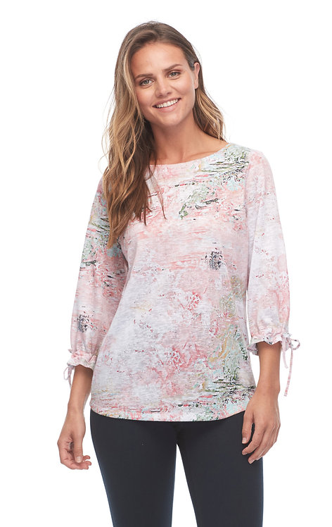 Pastel Abstract Top
