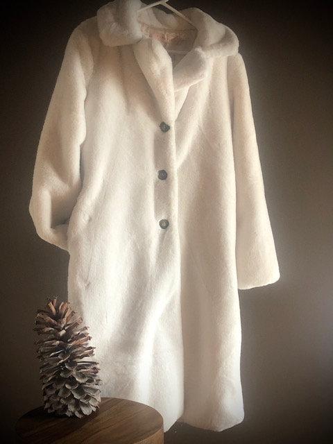 Winter White Fun Fur by Esqualo