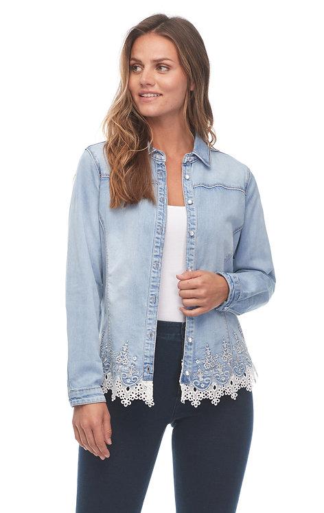 Lacy Bottom Jacket/Shirt