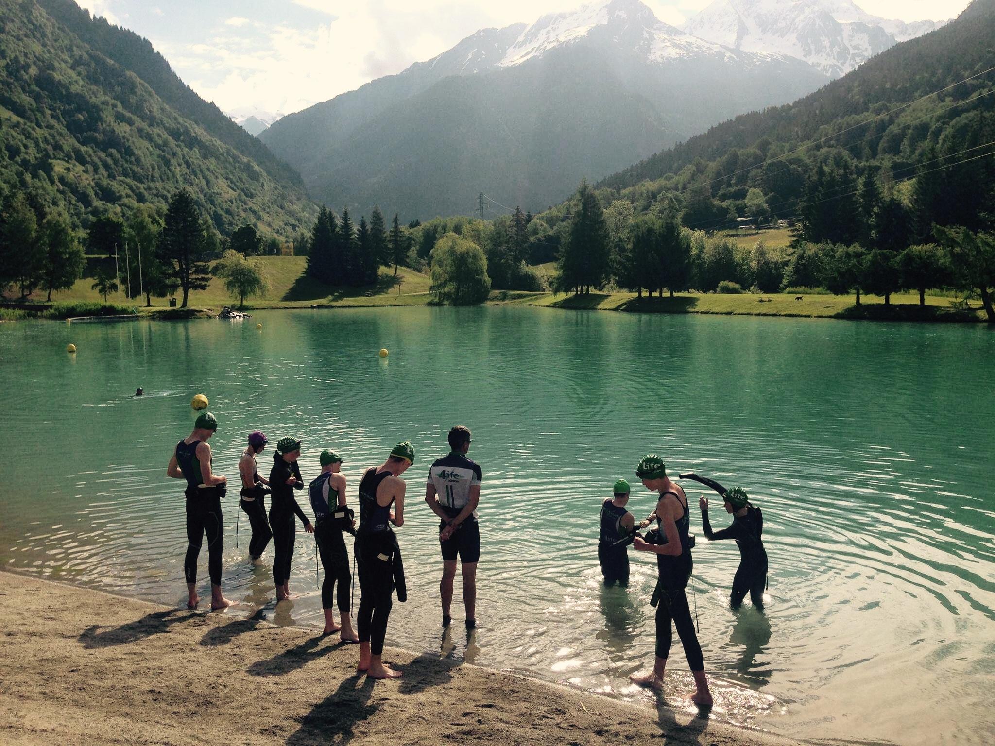 Bozel Lake image amended 2