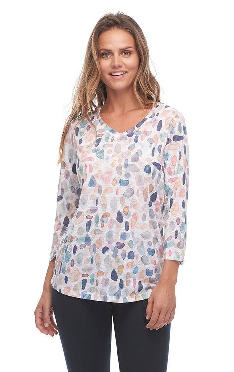 Pebble Print T-shirt