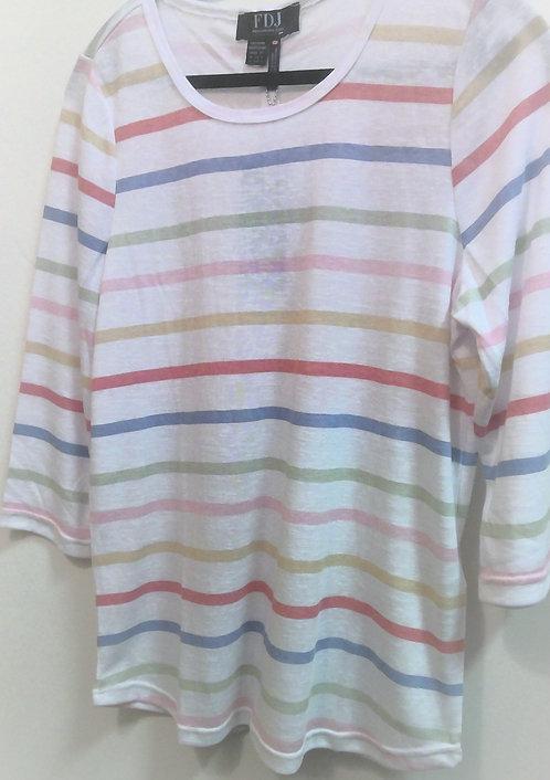 Pastel Striped Tshirt