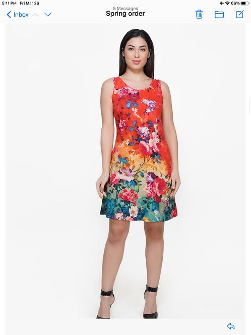 Brilliant Blooms Dress