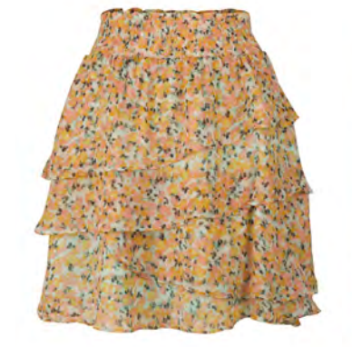 Bouquet Ruffle Skirt
