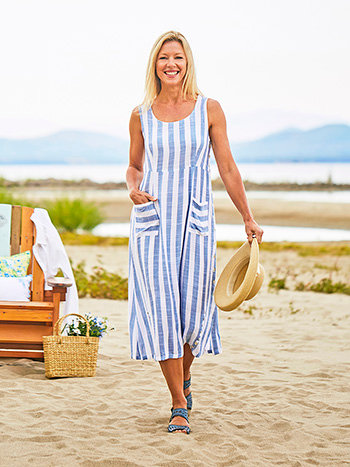 Bahamas Striped Dress