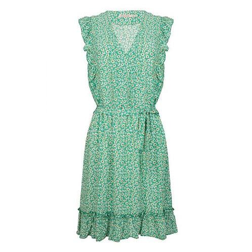 Ruffled Flowered Dress