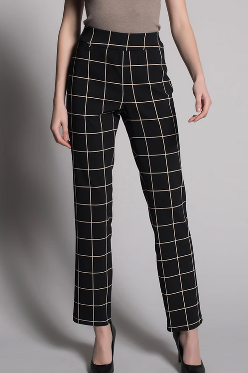 Stretchy pull on pant with tummy control.