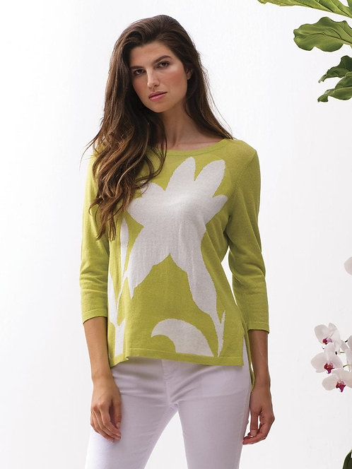 Abstract Summer Sweater