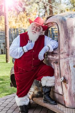 Old West Santa