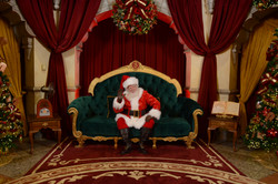 My friend Santa at Hollywood Studios