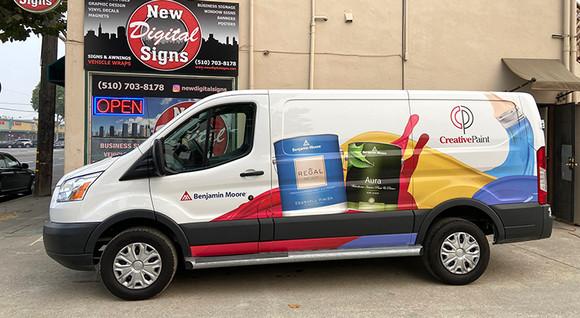 Creative Paint Van