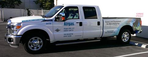 Airgas Truck