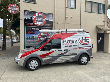 Hitek Electrical small van