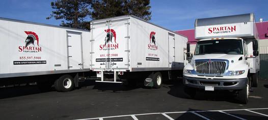 Spartan Van Lines Truck Fleet