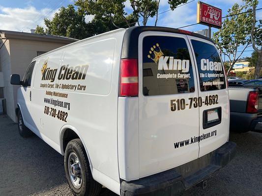 King Clean Van