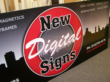 NDS Shop Sign