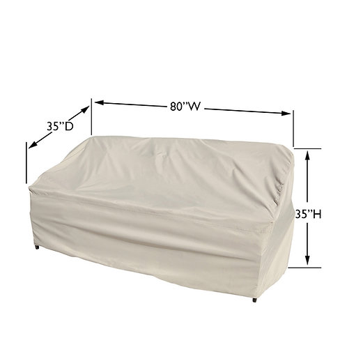 Sofa Cover Meaures: 80″ W x 35″ D x 35″  H
