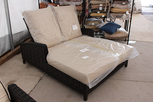 Resin Wicker Double Chaise #29003