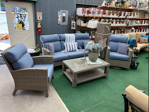 4pc Wicker Seating Group #32717