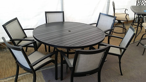 """60"""" Round Sling Dining Group #32269"""